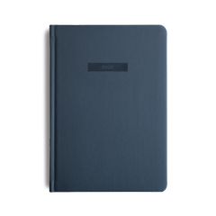 Mi Goals - 2020 Diary - A5 - Hard Cover - Navy