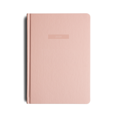 Mi Goals - 2020 Diary - A5 - Hard Cover - Coral