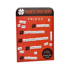 Ginger Fox - Hashtag Magnetic Fridge Words