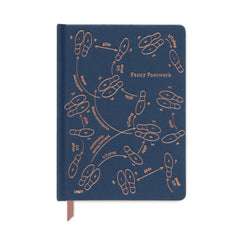 Designworks Ink - Small Ruled Notebook - Fancy Footwork