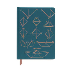 Designworks Ink - Small Ruled Notebook - Le Bateau