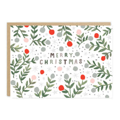 Jade Fisher - Merry Christmas - Pickle - Christmas Card