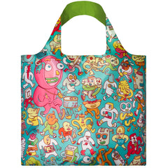 LOQI Reusable Shopping Bag - Creative Collection Stephen Brosmind Folks