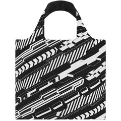 LOQI Reusable Shopping Bag - Uberpup Collection Blocks