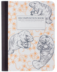 Decomposition - Notebook - Large - Ruled - Manatea