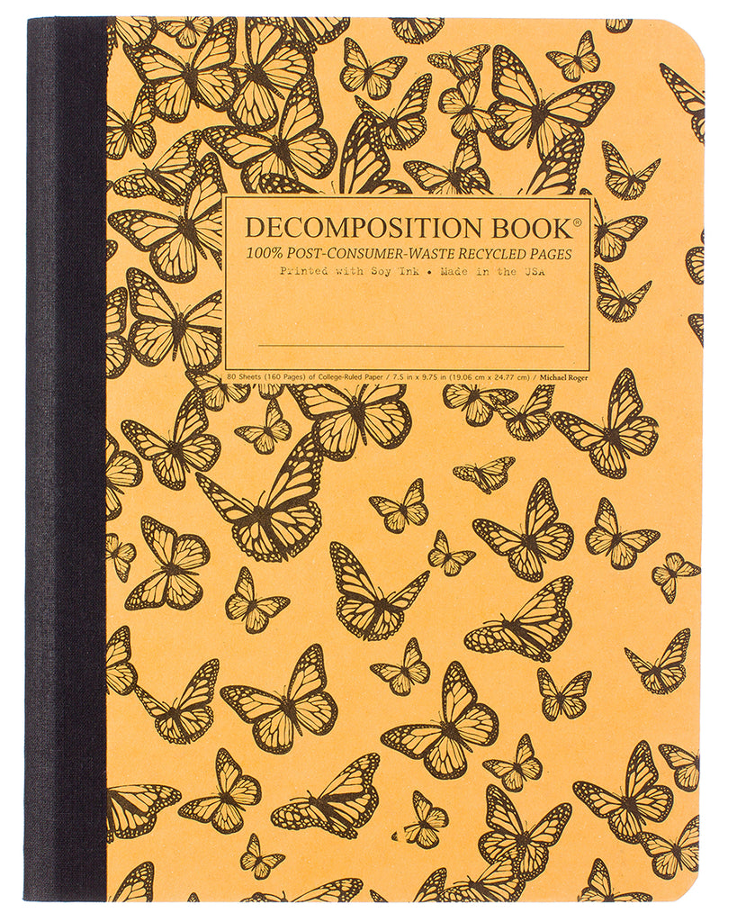 Decomposition Notebook - Monarch Migration - Large - Ruled
