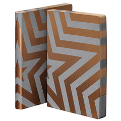 Nuuna Graphic Large Notebook Smooth Bonded Leather Super Star