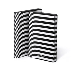 Nuuna Graphic Notebook Black Smooth Bonded Leather Pret-A-Ecrire