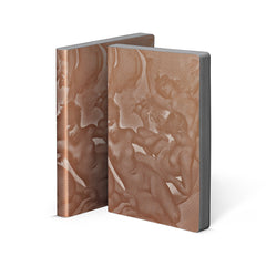 Nuuna Graphic Notebook Copper Smooth Bonded Leather Paradise