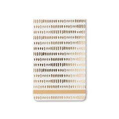 Designworks Ink - Ruled Pocket Notebook - Gold Dots