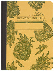 Decomposition - Notebook - Large  - Dot Grid - Pineapples