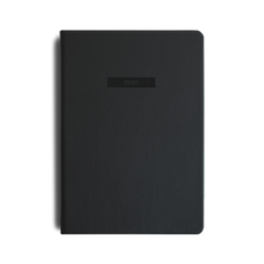 Mi Goals - 2020 Diary - A5 - Soft Cover - Black