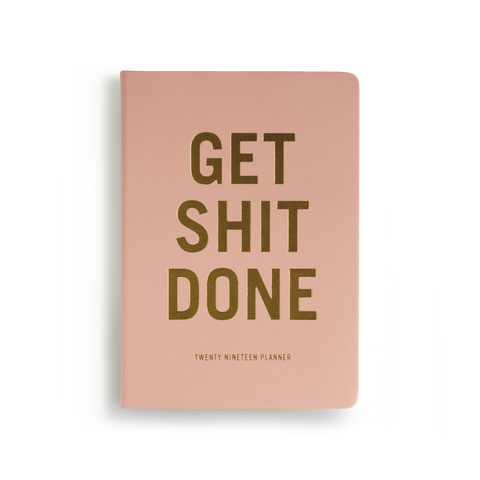 e6ce8c77b84 Mi Goals - 2019 Get Shit Done Diary - A5 - Soft Cover - Coral – mag nation