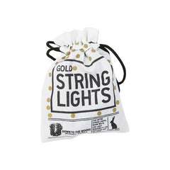 Down To The Woods - 5m Gold String Lights - Battery