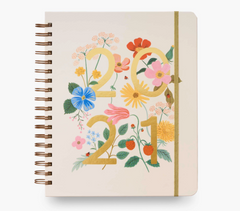 Rifle Paper Co - 2021 17-Month Large Planner- Wild Garden