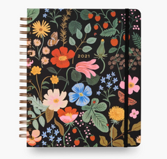 Rifle Paper Co - 2021 17-Month Large Planner- Strawberry Fields