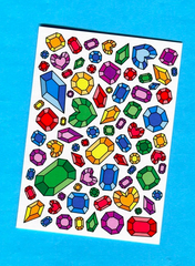 Things by Bean - Colourful Gem Card