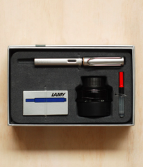 Lamy Gift Pack - Safari Al-Star Fountain Pen Medium Graphite