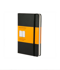 Moleskine Classic Notebook - Ruled - Large - Hardcover - Black