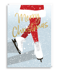 Nineteen Seventy three - Alpine Skating - Christmas Card