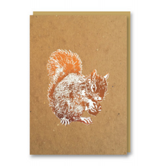 Nineteen Seventy three - Squirrel - Christmas Card
