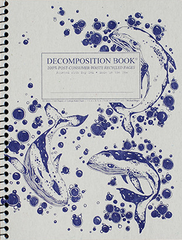 Decomposition - Spiral Bound Notebook - Large - Ruled - Humpback Whales