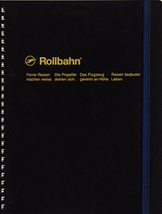 Delfonics Rollbahn Spiral Notebook - Extra Large - Black
