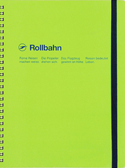 Delfonics Rollbahn Spiral Notebook - Extra Large - Green
