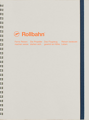 Delfonics Rollbahn Spiral Notebook - Extra Large - Ash Grey