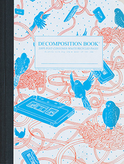 Decomposition Notebook - Bird Song - Large - Ruled