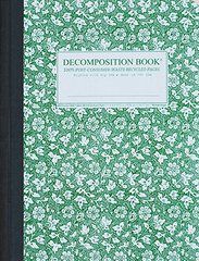 Decomposition Notebook - Parsley - Large - Ruled