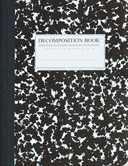 Decomposition Notebook - Large - Ruled - Cherry Blossom