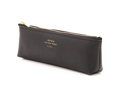 Delfonics Quitterie Pencil Case - Black