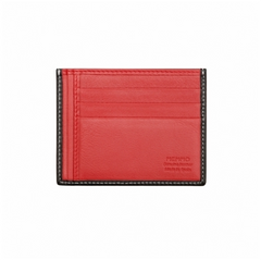 Memmo Credit Card Holder Black/Red