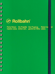 Delfonics Rollbahn Spiral Notebook - Large - Forest Green