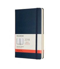Moleskine 2018 Daily Diary Planner Notebook