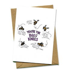 Things by Bean - 'You're the Bees' Knees' Card