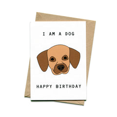 Things by Bean - 'Dog Birthday' Card