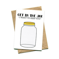 Things by Bean - 'Get In The Jar' Card
