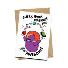 Things by Bean - 'You are awesome' Card