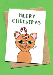 Things by Bean - Christmas - Cat Card