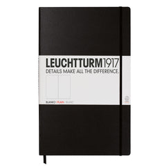Leuchtturm 1917 - A4 Master - Plain - Hard Cover - Black