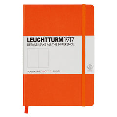 Leuchtturm 1917 - A5 - Dot Grid - Hard Cover - Orange