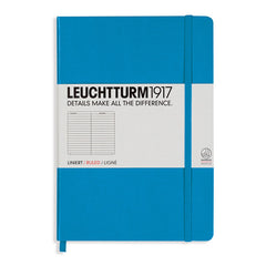 Leuchtturm 1917 - A5 - Lined - Hard Cover - Azure