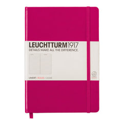 Leuchtturm 1917 - A5 - Lined - Hard Cover - Berry