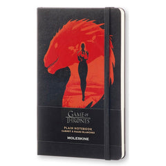 Moleskine - Game of Thrones Limited Edition Notebook - Large - Plain