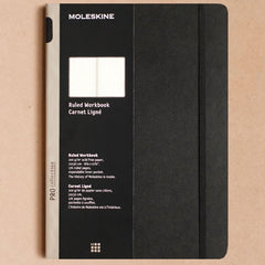 Moleskine - Professional Collection - Ruled Workbook - A4 - Hard Cover - Black