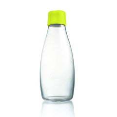 Retap - Glass Water Bottle - Medium 500ml - Lemon Lime