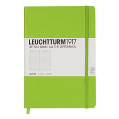 Leuchtturm 1917 - A5 - Lined - Hard Cover - Lime
