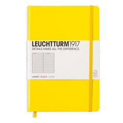 Leuchtturm 1917 - A5 - Lined - Hard Cover - Lemon